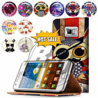For Samsung Galaxy S5 I9600 Case Print Card Holder Flip PU Folio Wallet Book Style Leather Case Cover Moible Phone Csaes