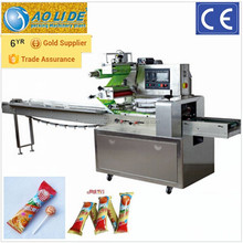full stainless steel automatic lollipop candy flow packaging machine ALD-250B