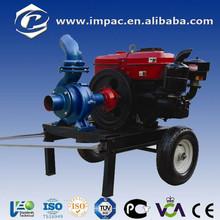 15hp moteur propulsé irrigation pompe diesel