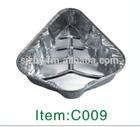 folha de alumínio recipiente