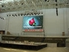 outdoor video wall led screen full color 12mm/china xxx video curtain screen wall/china led advertising signs