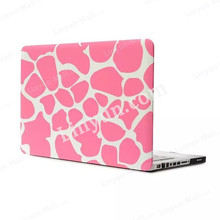 "For Macbook Pro Rubber Case 13"",Pink Zebro 13 PC Shell Hard Case+Keyboard Protector For Macbook Pro"