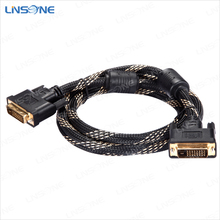Good quality 1080p 19pin video to dvi cable 19 pin or 24 pin dvi cables