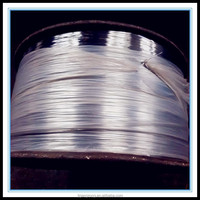 Factory price galvanized round stitching wire/Iron galvanized round wire in Spool