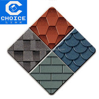 Colorful asphalt shingles/roofing tiles