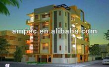 Prefab luxuar apartment(real estate, residence,building)