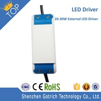 High PF 30W Isolated Driver 100-264VAC Input 850mA Power Adapter for LED Light