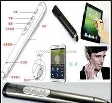 Spy Earpiece Secret GSM Mini Earphone Invisible Smallest Wireless Bluetooth Pen