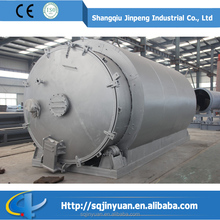 Waste Tire and Plastic Recycling Pyrolysis Equipment to Fuel Oil