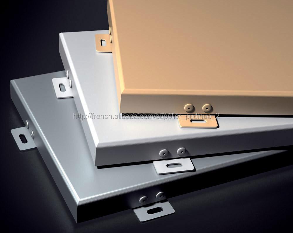 Panneau composite aluminium a revetement pvdf mur rideaux - Panneau composite aluminium ...