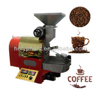 Chinese supplier! Automatic stainless steel 2kg coffee roasting machines for shop