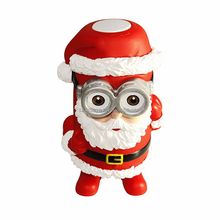 Best Christmas gift cartoon Santa Claus bluetooth speaker/wireless portable stereo with TF Radio and microphone