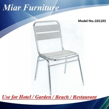 Used cafe chair Outdoor Aluminum Chair 101103