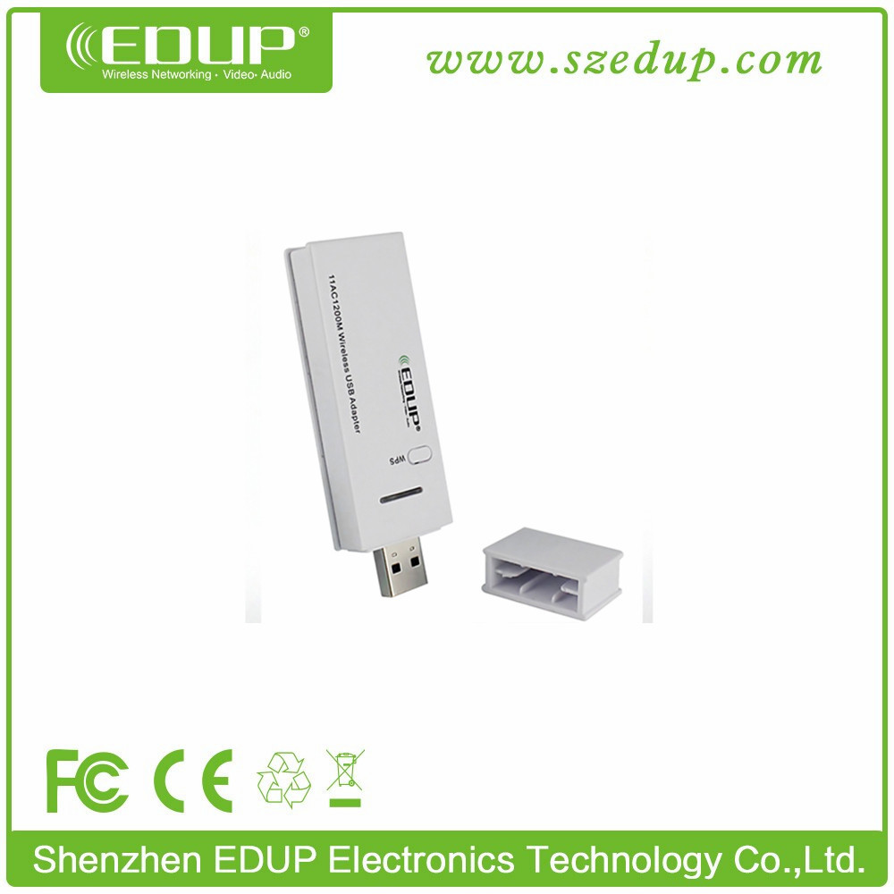 802.11ac 1200Mbps Dual Band 2.4Ghz  5Ghz USB Wifi Adapter Android For Android Tablet 4.jpg