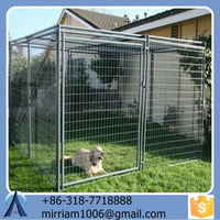 2015 High quality Anti-rust and Durable Practical Powder Coated or Galvanized Welded Dog Cages and Chain Link Dog Cages