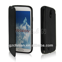Wallet leather Case with stand/strap For Samsung Galaxy S4