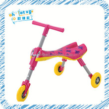 Cheap factory 3 wheel foldable mantis bug scooter ,baby new walker toy trike scooter for sale