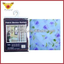 flor de la orquídea patrón de cuarto de baño de poliéster cortina de la ducha