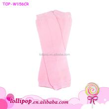 2015 wholesale kids solid pink leg warmers boutique cotton plain baby leg warmers