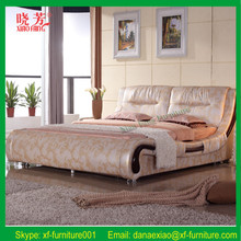 Promotion pink leather diomand folding wall bed