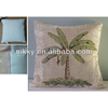 tropical tree jumping pillow, shabby chic scatter cushion wholesale