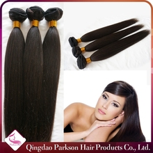 2015 products 3 bundles straight styling 100% malaysian milky way silky straight human hair weft wholesale price