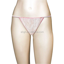 2015 hot sales disposable spa accessories disposable non woven tanga spa G-string