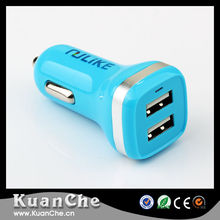 Promotional Output DC 5.0V 2.1A Portable Dual Port Car USB Charger