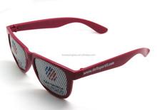 Custom Logo Lens Wayfarer Pinhole Sunglasses Gift Idea
