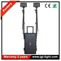 With battery digital display explosion proof lighting Model RLS-72W portable police military equipment