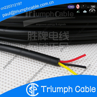 PVC Jacketed 3 Conductor 18 AWG Gauge Power Wire