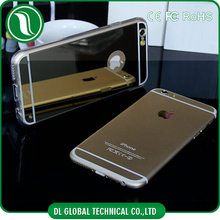 new phone product for iphone 6 case tpu mirror phone cases electroplating tpu cell phone case