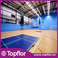 Cheap Wood Basketball Court Sports Gym Flooring For Sale
