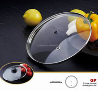 G type tempered glass pot lid