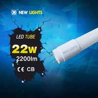 Light source indoor new product pf 0.95 18w t8 led white tube xxx tube8