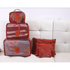 2015 hot sell travel cosmetic bag, travel organizer bag set 5pcs