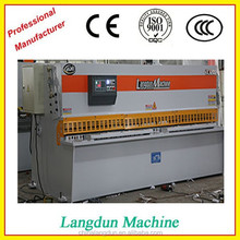 Hydraulic Pendulum plate shear Machine