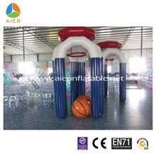 heat sealing inflatable basketball hoop, inflatable basketball product