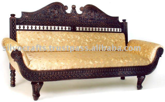 Royal indian rajasthani jodhpur hand carved teak wooden for Diwan models india