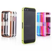 Luxury ultra thin metal aluminum alloy frame bumper for iphone 5 5s