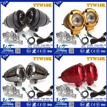 Round best fit led motorcycle driving lights kit for harley motorcycle