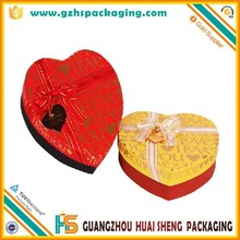 Fancy Vatinetine's Day chocolate packaging heart-shaped cardboard boxes