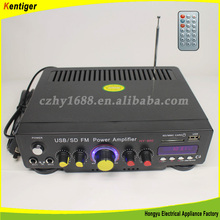 FM Radio Home Amplifier MP3 Player with 220V/110V Input