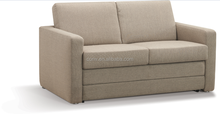 Hot Sale 2015 Fabric Material Transformable Folding Sleeping Sofa Bed