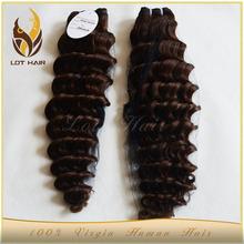Aliexpress cheap high quality grade 7a deep wave human hair in thailand