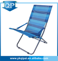high quality pvc folding lounge chair for outdoor