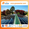 easy installation roof solar power system 1kw for home