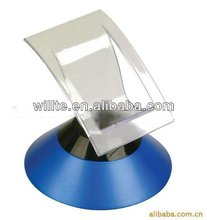 2013 rotating single acrylic display stand for mobile in supermarket/retail shop