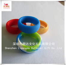 Custom & Eco-friendly Fashionable Clear Silicone Rubber o Ring