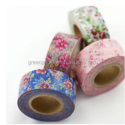 Greenpacking 2015 waterproof japanese custom printed washi tape pp24 decorative washi tape